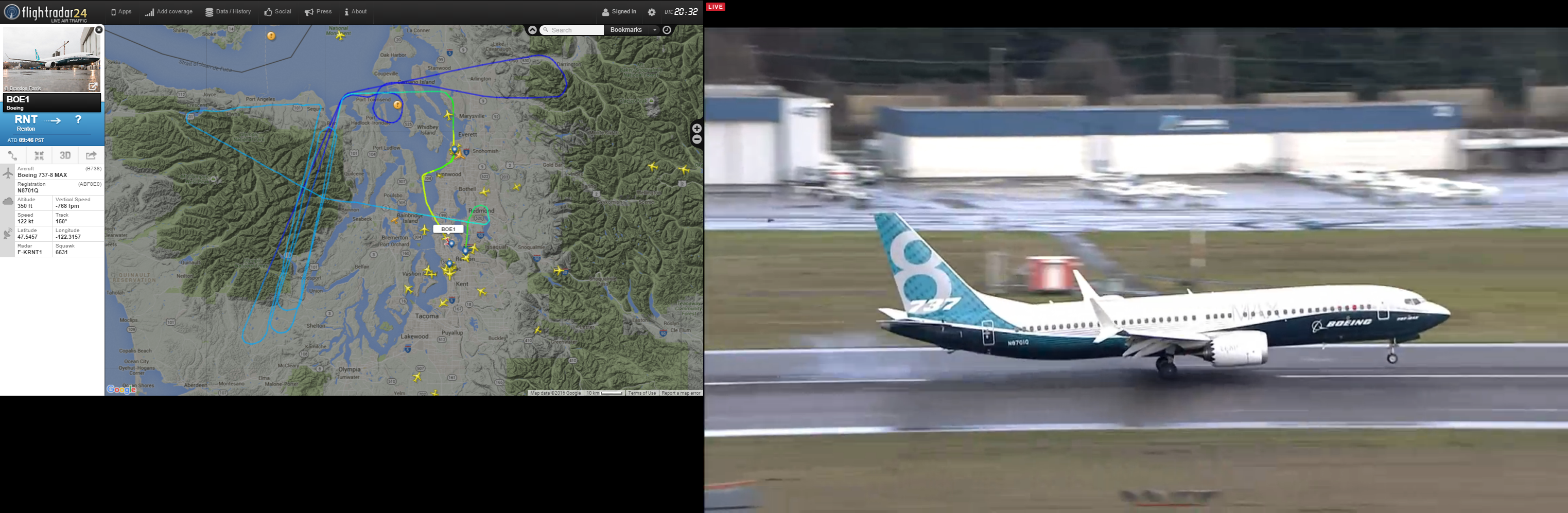 Raspberry Pi Real-Time Flight Tracker Updated